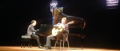 Los Hermanos Cuenca ofrecieron un gran concierto de guitarra y piano