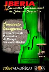 Almuñécar celebra el I Encuentro Internacional de Jóvenes Orquestas