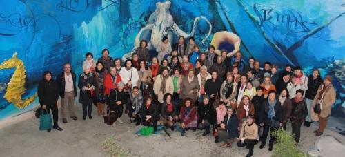 Mujeres de la AECC de Granada y Almería pasan una jornada de convivencia en Almuñécar