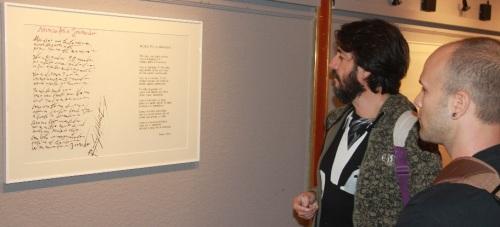 "Exposición ""Liricografías de Rafael Alberti"" en la Casa dela Cultura sexitana"
