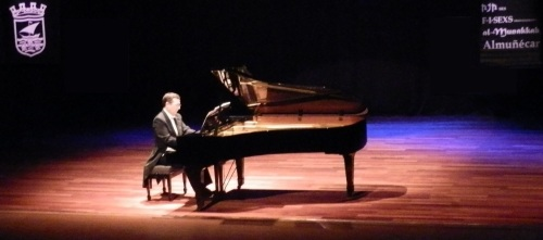 Gran concierto del pianista José Luis de Miguel Ubano en la Casa de la Cultura