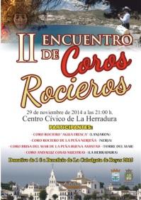 II Encuentro de Coros Rocieros este sábado en La Herradura