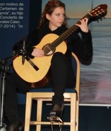 ISABEL MARIA SANCHEZ MILLAN DURANTE SU ACTUACION ANOCHE 14