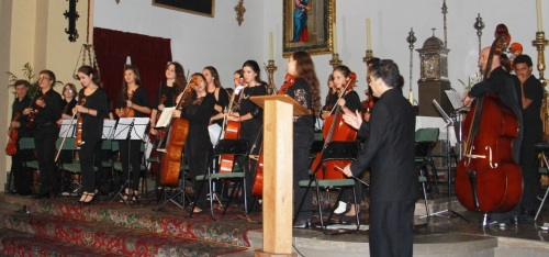 Anoche comenzaba el I Encuentro Internacional de Jóvenes Orquestas