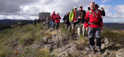 Senderistas de Almuñécar recorrieron la ruta desde La Cabra hasta Cónchar