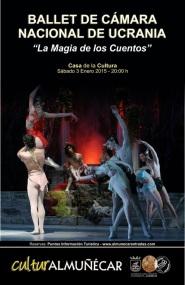 """Ballet de Cámara Nacional de Ucrania """"La Magia de los Cuentos Clásicos"""""""