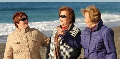 200 personas ciegas pasan la Navidad en Almuñécar de la mano de la ONCE