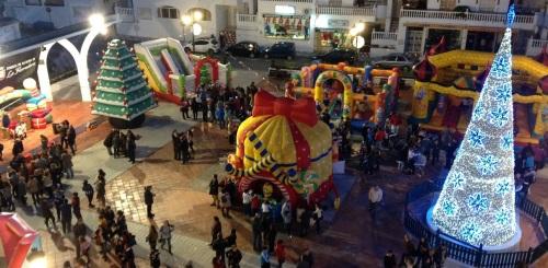 La Herradura vivió con gran participación la fiesta infantil de Navidad
