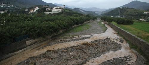Cauce del Río Jate en La Herradura