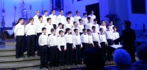 Concierto de Navidad de la Escolanía del Real Monasterio del Escorial en Almuñécar