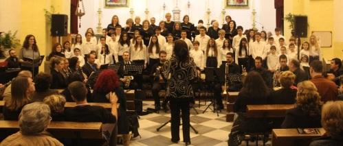 CONCIERTO NAVIDEÑO COROS ESCUELA MUSICA ALMUÑECAR 14