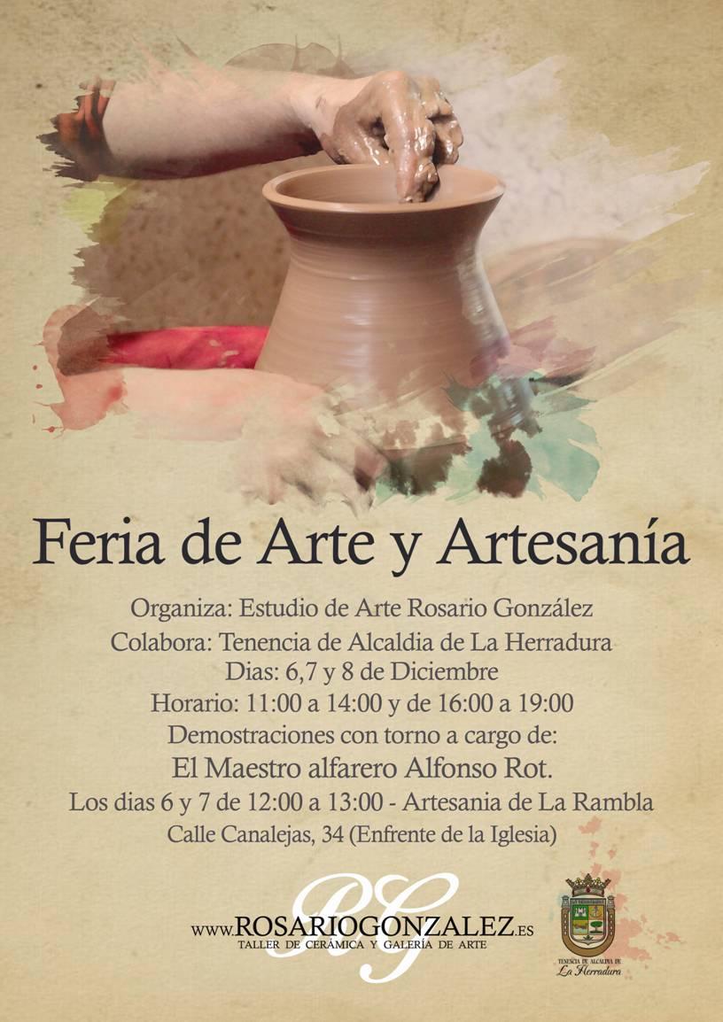 FERIA DE ARTE Y ARTESANIA EN LA HERRADURA