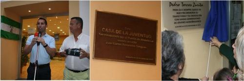 PA: Herrera ordena retirar la placa de inauguración de la Casa de la Juventud