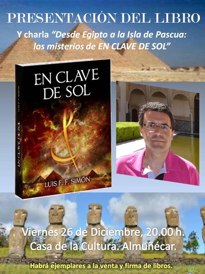 """Luis Fco. Fernández Simón presenta su primera novela """"En clave de sol"""""""