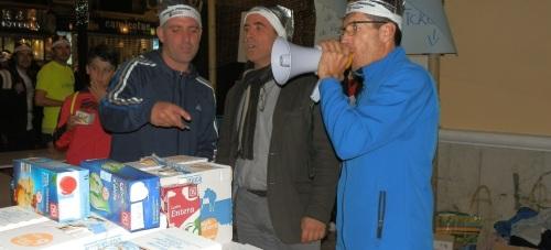 La V Carrera San Silvestre Solidaria sexitana recaudó 400 kilos de alimentos