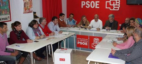 Primera reunión de la ejecutiva del PSOE de Almuñécar y La Herradura