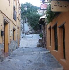 Calle San Crescencio antes de la Reforma. Barrio del Castillo 2