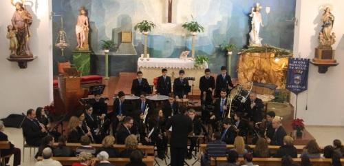 Bello Concierto de Año Nuevo de la BMM de Almuñécar en La Herradura