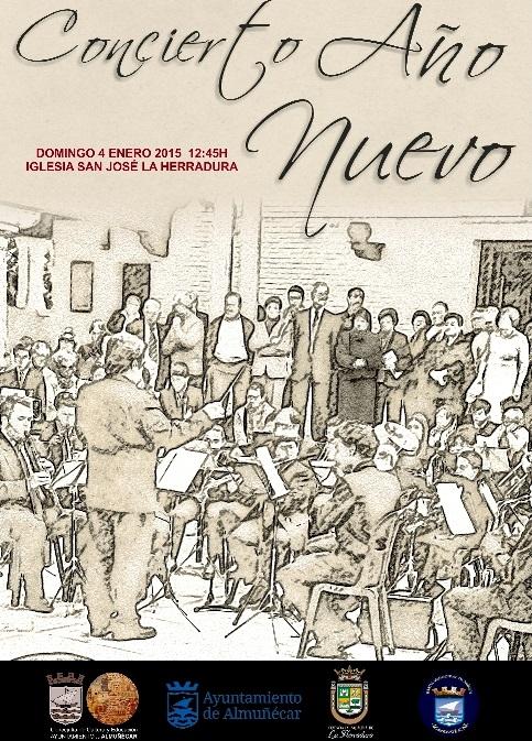 Concierto de Año Nuevo de la BMM en La Herradura