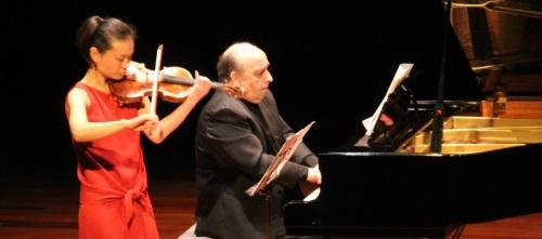 Éxito de Atsuko Neriishi (violín) y Juan José Muñoz (piano) en Almuñécar