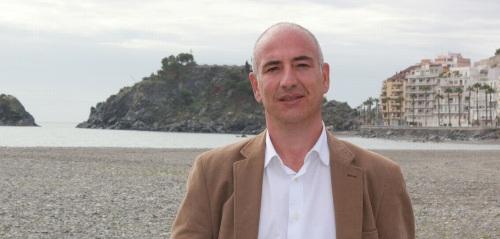 Sergio García Alabarce, secretario general del PSOE de Almuñécar y candidato a la Alcaldía
