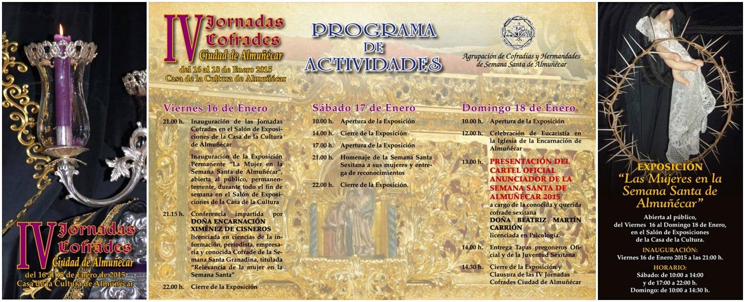 IV Jornadas Cofrades Almuñécar 2015