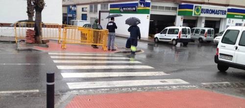 El Ayto. de Almuñécar realiza obras de accesibilidad en el CP San Miguel