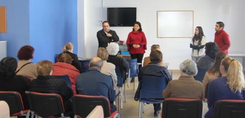 Con el apoyo de Afavida, La Herradura acoge talleres de estimulación cognitiva