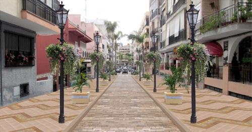 Proyecto urbanístico para la avenida de Andalucía en Almuñécar