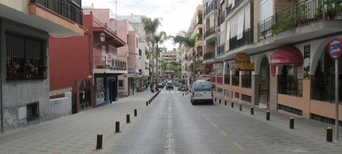 Avenidad de Andalucia en Almuñécar