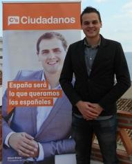 Ulises Najarro, candidato sexitano por Ciudadanos al Parlamento Andaluz