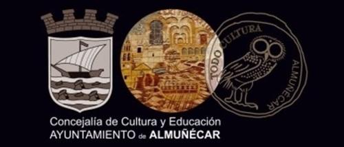 """Logos del Ayuntamiento de Almuñécar, la Concejalía de Cultura del Ayuntamiento de Almuñécar y """"Todo Cultura"""""""