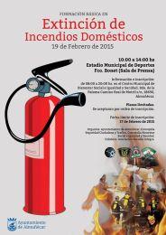 Almuñécar celebra este jueves un Curso sobre Incendios Domésticos