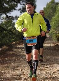 Tomás Bustos, del Club Atletismo Almuñécar, durante la CXM de Sierra Blanca