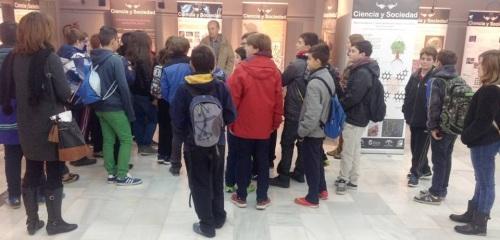 Exposición sobre 'Ciencia y Sociedad' en la Casa de la Cultura de Almuñécar