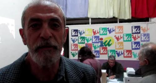 Fermín Tejero, portavoz de Izquierda Unida en el ayuntamiento de Almuñécar