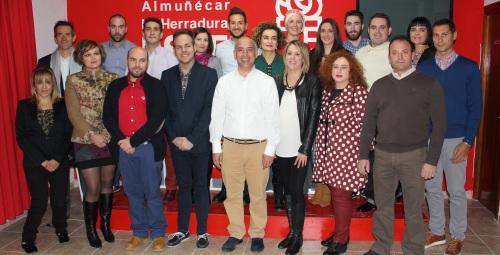 El PSOE presenta la candidatura del cambio para Almuñécar y La Herradura