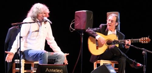 José Mercé y Pepe Habichuela abrieron el III Ciclo Flamenco de Almuñécar