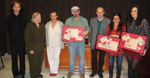 JURADO Y GALARDONADOS CERTAMEN CARTAS AMOR Y DESAMOR ALMUÑCAR 2015 2