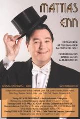El artista sueco Mattias Enn dará un concierto este viernes en Almuñécar
