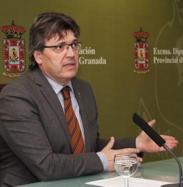 ,José Torrente, portavoz del equipo de Gobierno de la Diputación de Granada