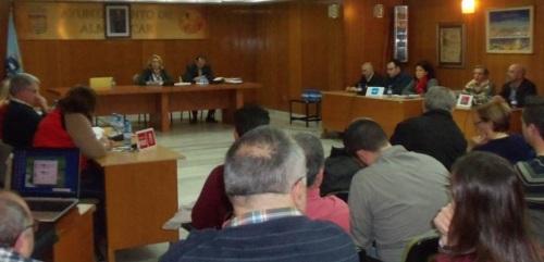 Pleno del Ayuntamiento de Almuñécar celebrado el 24 de febrero de 2015