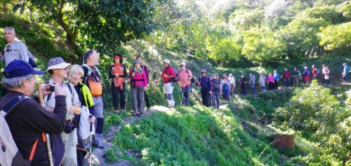 """Senderistas sexitanos ascendieron al conocido como """"Machu Pichu granadino"""""""