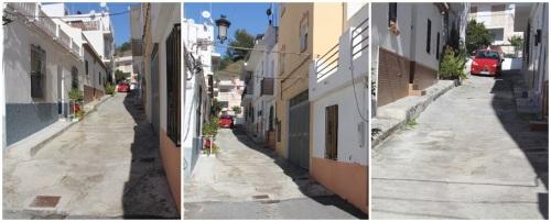 Urbanización de la calle Balandro en el barrio El Espinar de La Herradura