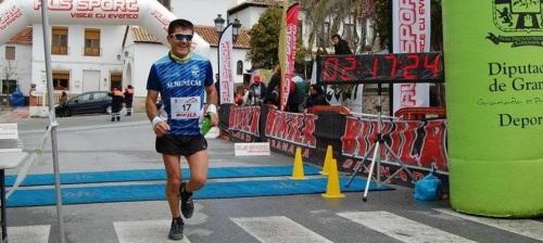 """""""El Club Atletismo Sexitano en el Trail de Huétor Santillán puntuable para el III Edición del Bikila Trail Series Granada 2015""""."""