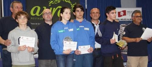 Trofeos Campeonato Provincial de Ajedrez Sub 16