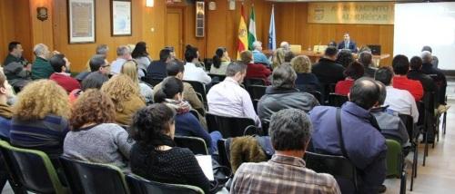El Director Provincial de la Seguridad Social presentó en Almuñécar el portal Tu Seguridad Social