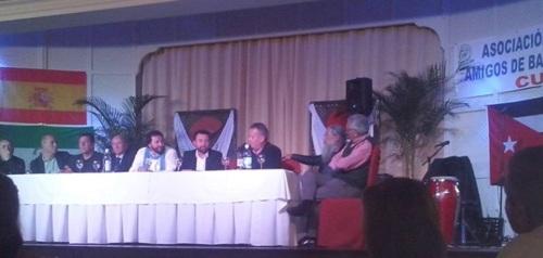"""Benavides interviene en la cena benéfica de la asociación """"Amigos Baracoa-Cuba"""""""