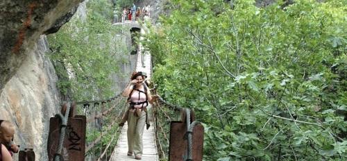 Ruta de senderismo este domingo por los Cahorros del río Monachil