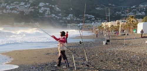 Aida Rivas Castro campeona provincial de pesca Mar-Costa en La Herradura